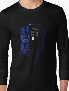 You Never Forget Your First - Doctor Who 4 Tom Baker Long Sleeve T-Shirt