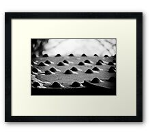 the quiet ones Framed Print