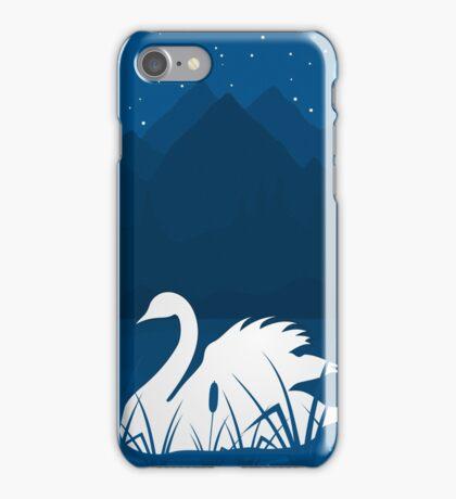 White swan iPhone Case/Skin
