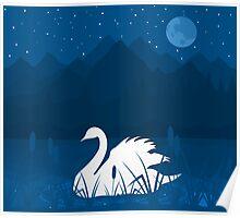 White swan Poster