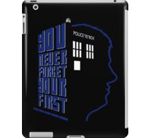 You Never Forget Your First - Doctor Who 5 Peter Davison iPad Case/Skin