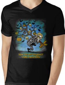 Beetlegrinch Mens V-Neck T-Shirt