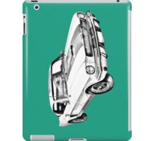 1965 GT350 Mustang Muscle Car Illustration iPad Case/Skin