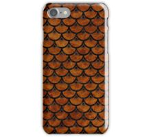 SCA3 BK-BR MARBLE (R) iPhone Case/Skin