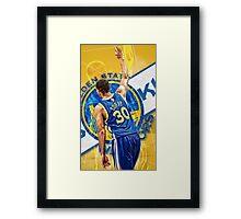 Basketball genius Framed Print
