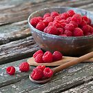 Raspberries by artsandsoul