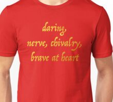 Brave at Heart Unisex T-Shirt