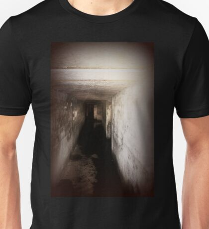Battery Mishler corridor into the darkness Unisex T-Shirt