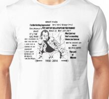 Quotes of Rik Mayall Unisex T-Shirt
