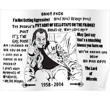 Quotes of Rik Mayall Poster