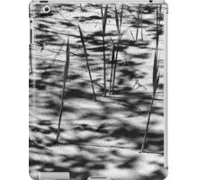 Beach Shadows BW iPad Case/Skin