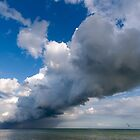 Dramatic Cloudscape off St Margrets Bay by John Gaffen