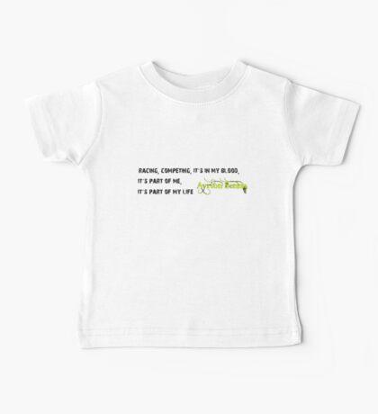 F1 legend Ayrton Senna quote Baby Tee