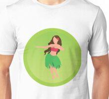 Hula Girl  Unisex T-Shirt