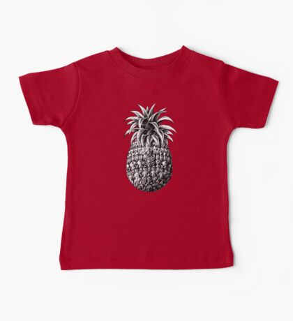 Ornate Pineapple Baby Tee