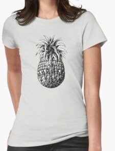 Ornate Pineapple Womens Fitted T-Shirt