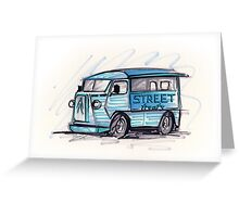 Food Truck 01 Greeting Card