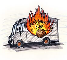Meatballs of Fire by Richard Yeomans
