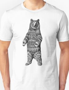 Ornate Grizzly Bear T-Shirt