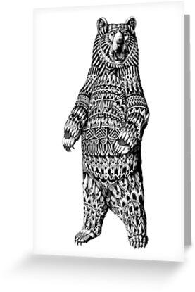 Ornate Grizzly Bear by BioWorkZ