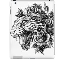 Ornate Leopard iPad Case/Skin