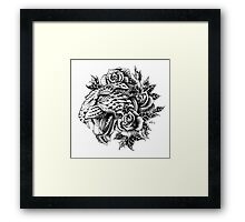 Ornate Leopard Framed Print