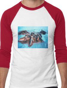 Sand Sculpture Men's Baseball ¾ T-Shirt