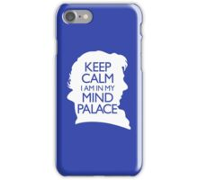 Sherlock Holmes Mind Palace art iPhone Case/Skin