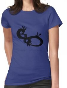 Master of Chaos - Black Womens Fitted T-Shirt