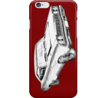 1968 Plymouth Roadrunner Muscle Car Illustration iPhone Case/Skin