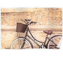 Oxford bike Poster
