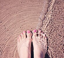 A summer dip in sparkly ripples - food for the soul! by Zoe Power