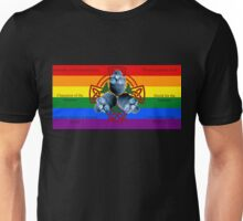 LeatherWing Coat of Arms LGBTQ Pride Unisex T-Shirt