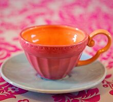 Vintage teacup by Zoe Power