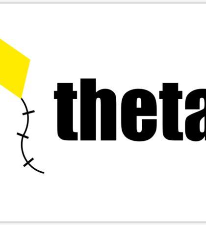 Theta Kite Sticker Sticker