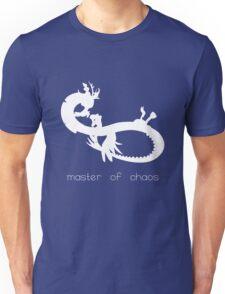 Master of Chaos - White Unisex T-Shirt