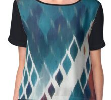 Abstract composition 347 Chiffon Top