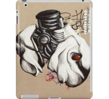 Armed Fish Grafitti Landscape iPad Cover iPad Case/Skin