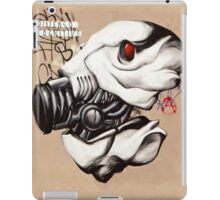 Armed Fish Grafitti Portrait iPad Cover iPad Case/Skin