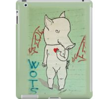 Naked Piggy iPad Case/Skin