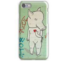 Naked Piggy iPhone Case/Skin