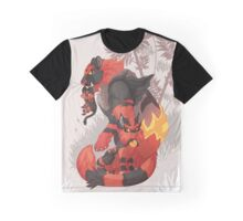 Litten Line  Graphic T-Shirt