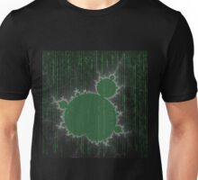 SciFi Fractal / green Unisex T-Shirt