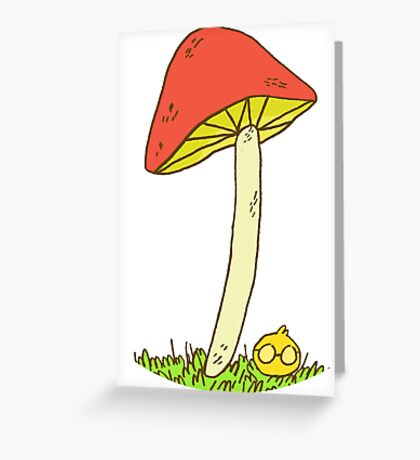 Under the Cap Greeting Card