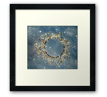 Stardust and Pearls Framed Print