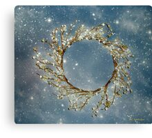 Stardust and Pearls Canvas Print