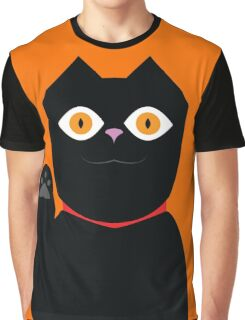 Vector Cat Graphic T-Shirt