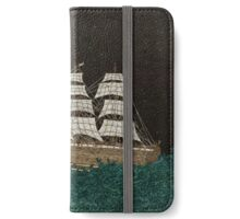 Tall Ship At Sea iPhone Wallet/Case/Skin