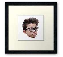 Jacob Sartorius Glasses Framed Print