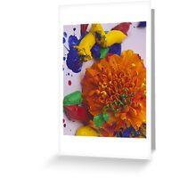 Orange Eton Mess Greeting Card
